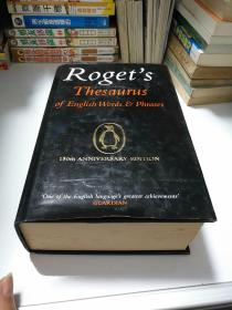 Roget's Thesaurus of English Words and Phrases:150th Anniversary Edition    2003 年出版 【存放150层】