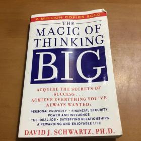 The Magic of Thinking Big 神奇大思维