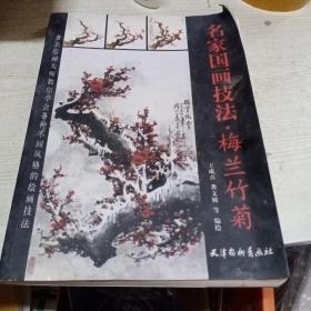名家国画技法  梅兰竹菊