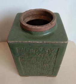 古朴雅致青瓷茶叶罐