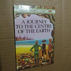 英文原版A JOURNEY TO THE CENTER OF THE EARTH(地心游记)彩图精装