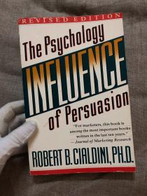 Influence: The Psychology of Persuasion, Revised Edition 影响力 【英文版,修订版,16开本】