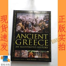 英文书   ancient     greece   an   illustrated    history 古希腊历史画册