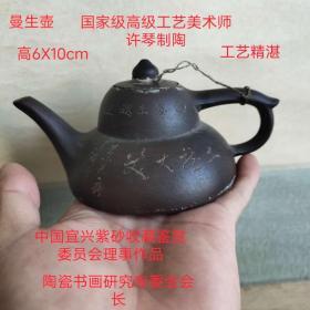 中国宜兴紫砂收藏鉴赏专业委员会常务理事许琴老师作品