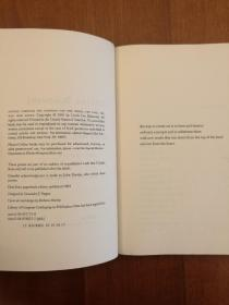Sifting Through the Madness for the Word, the Line, the Way: New Poems(现货,实拍书影)
