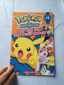 Battle for the bolt badge pokemon comic storybook 1