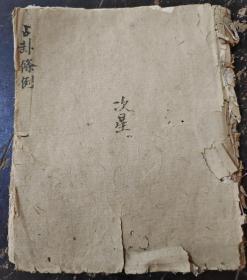 清代手写算命书,占卦条例,正宗卦诀,求财问病,婚姻,出行,各种吉凶卦法,
