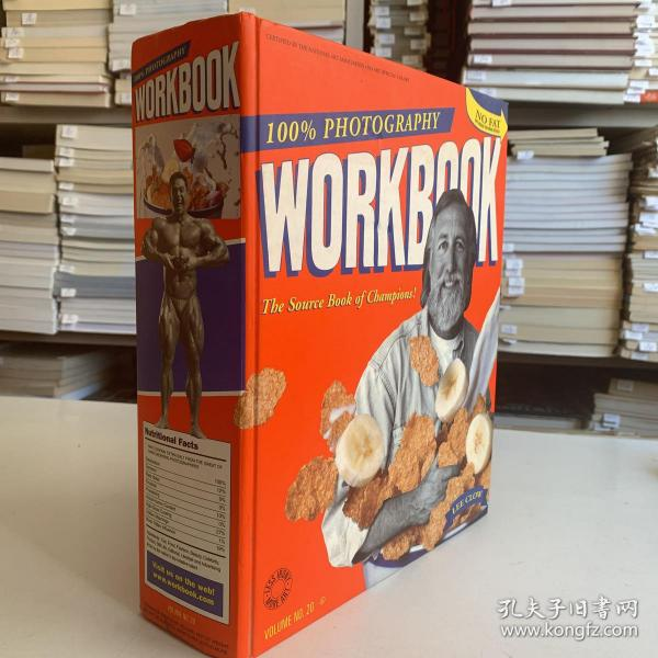 WORKBOOK 100%PHOTOGRAPHY(工作薄 百分百摄影)