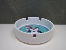 1990年 北京亚运会吉祥物熊猫盼盼烟灰缸 怀旧老物件