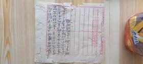 中国工农红军第四军十二师纸张