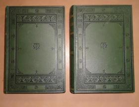 1900年- THACKERAY- The Virginians 萨克雷《弗吉尼亚人》全插图豪华本2册全 极品道林纸印制 品佳