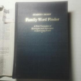 读者文摘同义词反义词英语词典