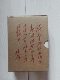 文革红塑皮书,64开红宝书《毛泽东选集》一卷本软精装带函盒套,内称,1969年辽宁9印