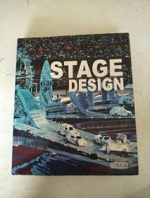 STAGE DESIGN 舞臺設計 8開英文版精裝!厚冊