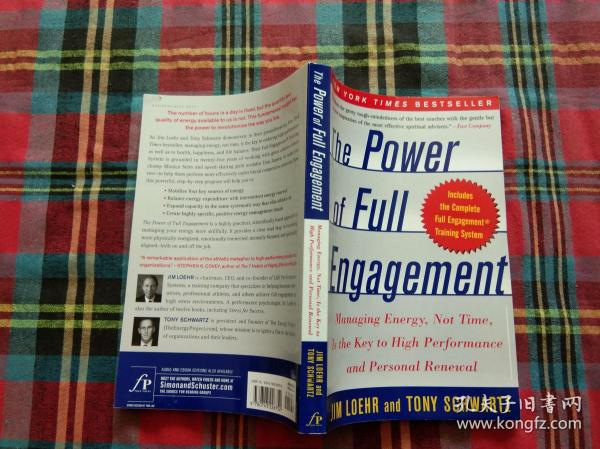 The Power of Full Engagement:Managing Energy, Not Time, Is the Key to High Performance and Personal Renewal