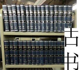 稀缺《 美国百科全书(30卷)国际版 》大量图片与地图,1974年出版