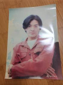90年代怀旧明星海报贴画:郑伊健1