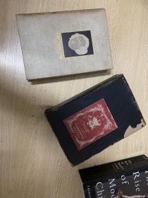 (限印签名本)The Life of Samuel Johnson       鲍斯威尔《约翰逊博士传》,王佐良先生说是英语中最完美的传记,董桥:英國人都愛鮑斯韋爾的《約翰遜傳》,愛佩皮斯的《日記》,說是最佳床邊名著。布面精装毛边本,限印一千册,经常给Heritage Press 画插图的插画家Gordon Ross签名版,1945年老版书,16开,带书匣
