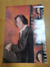 90年代怀旧明星海报贴画:郑伊健2