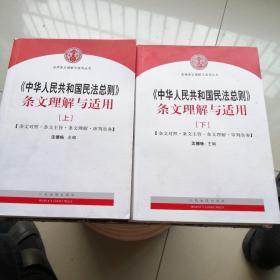 中华人民共和国民法总则 条文理解与适用(上下册)