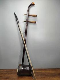 民族乐器檀木老二胡一把