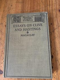 5651: MACAULAY ESSAYS ON CLIVE AND HASTINGS