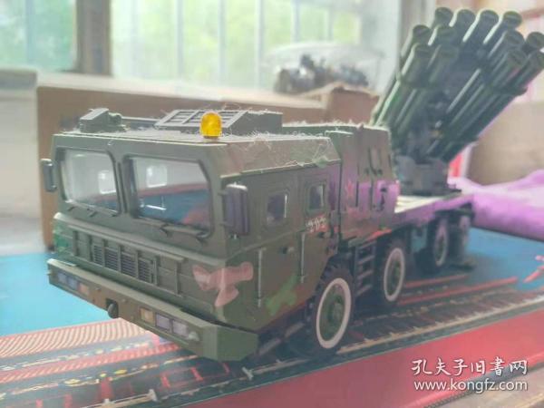 1:32中国03式自行火箭炮积木模型完成品