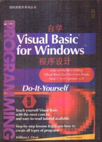 自学 Visual Basic for Windows 程序设计