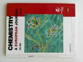 Chemistry: A European Journal no.45 2012 欧洲化学学术期刊杂志