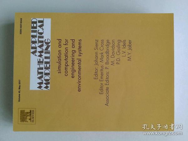 Applied Mathematical Modelling 05/2017 应用数学建模学术论文期刊杂志