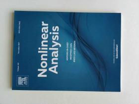 Nonlinear Analysis (Journal) VOL.163 11/2017 非线性分析多学科学术期刊
