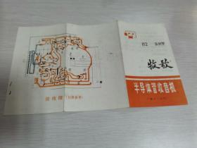 牧歌82系列型半导体管收音机说明书(内蒙古无线电厂)