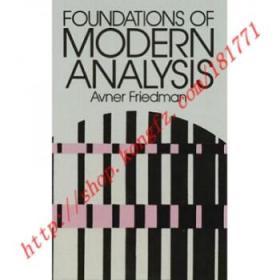 【进口原版】Foundations of Modern Analysis