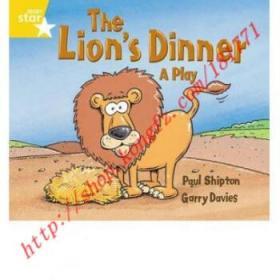 【进口原版】Rigby Star Guided 1 Yellow Level: The Lion's...