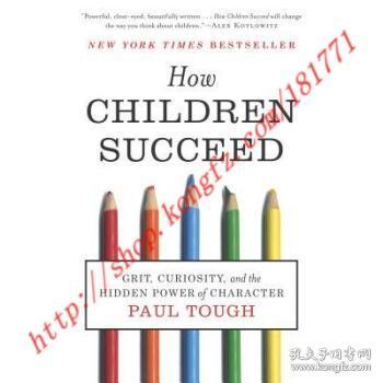 【进口原版】How Children Succeed: Grit, Curiosity, and t...