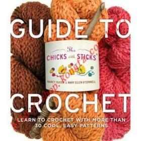 【进口原版】Chicks with Sticks Guide to Crochet: Learn t...