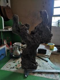 百年老木雕件