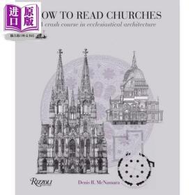 英文原版 How to Read Churches A Crash Course in Ecclesiastical Architecture Denis McNamara