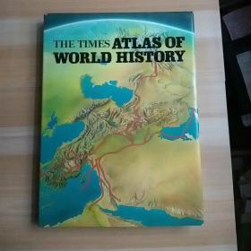 泰晤士世界历史地图集 8开精装 一版一印 The Times Atlas of The World History   现货 1979年 初版