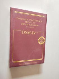Dsm IV TM: Diagnostic and Statistical Manual of Mental Disorders精神疾病诊断与统计手册【全新未拆封】