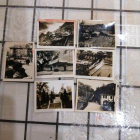 重庆北碚公园老照片七张