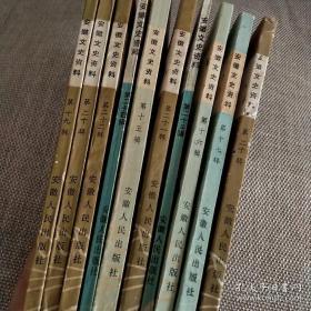 安徽文史资料(二十辑)
