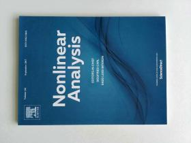 Nonlinear Analysis (Journal) VOL.161 09/2017 非线性分析多学科学术期刊