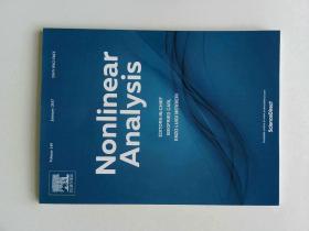 Nonlinear Analysis (Journal) VOL.149  01/2017非线性分析多学科学术期刊