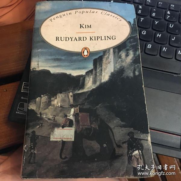 Kim(吉姆)(1901年诺奖得主Rudyard Kipling代表作)(进口原版)