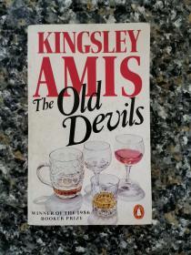 《The Old Devils》英国原版1987年进口货平装本 私藏干净 布克奖获得者Kingsley Amis 经典著作