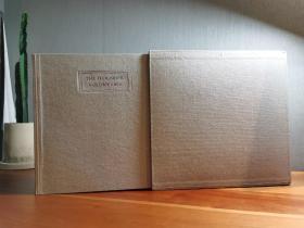 签名 诺贝尔得主君特格拉斯 三册全 The Flounder《比目鱼》 布面鱼皮脊精装三册 限量好品 带函套 情色