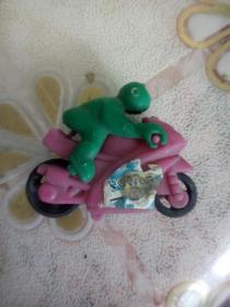 老食玩 摩托车骑手