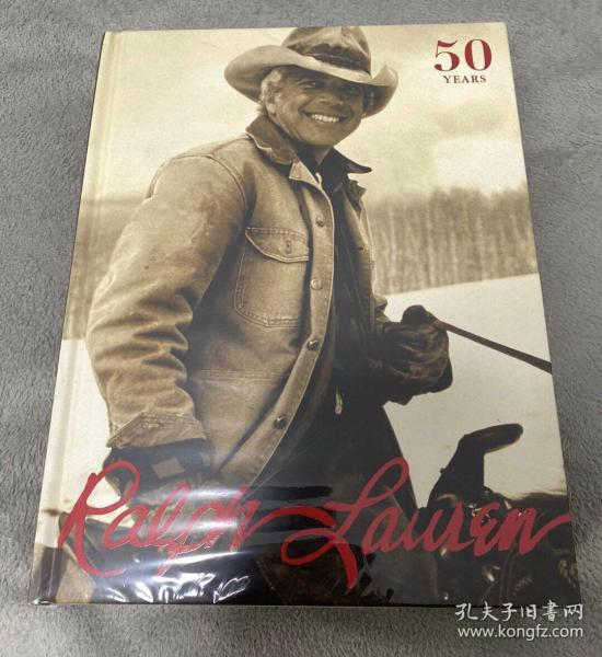 进口正版现货 拉夫劳伦50周年纪念版Ralph Lauren时尚服装设计师