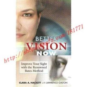 【进口原版】Better Vision Now: Improve Your Sight with t...